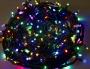 "Гирлянда ""Твинкл Лайт"" 10 м, прозрачный ПВХ, 80 LED, цвет Мультиколор"
