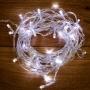 Гирлянда «Твинкл-Лайт» 15 м, прозрачный ПВХ, 120 LED, белое свечение NEON-NIGHT