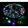 "Гирлянда ""Твинкл Лайт"" 15 м, прозрачный ПВХ, 120 LED, цвет Мультиколор"