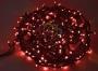 """Гирлянда """"Твинкл Лайт"""" 20 м, 240 диодов, цвет красный, черный провод """"каучук"""" Neon-Night"""