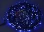 "Гирлянда ""Твинкл Лайт"" 20 м, 240 диодов, цвет синий, черный провод ""каучук"" Neon-Night"