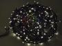 "Гирлянда ""Твинкл Лайт"" 20 м, 240 диодов, цвет белый, черный провод ""каучук"" Neon-Night"