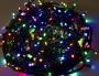 """Гирлянда """"Твинкл Лайт"""" 20 м, 240 диодов, цвет мультиколор, черный провод """"каучук"""" Neon-Night"""