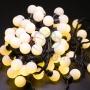 """Гирлянда """"Мультишарики"""" O23 мм, 10 м, черный ПВХ, 80 диодов, цвет теплый белый Neon-Night"""