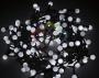 "Гирлянда ""Мультишарики"" O18мм 5м, темно-зеленый ПВХ, 25 диодов, цвет Белый Neon-Night"