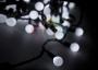 "Гирлянда ""LED - шарики"", Белые O45мм 10м 40 диодов, Neon-Night"