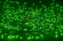 "Гирлянда ""Мишура LED""  3 м  288 диодов, цвет зеленый Neon-Night"