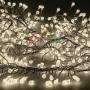 "Гирлянда ""Мишура LED""  3 м  прозрачный ПВХ, 288 диодов, цвет теплый белый Neon-Night"