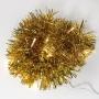 Гирлянда светодиодная «Мишура» золотая 10 LED, 1,5 м, прозрачный ПВХ, теплое белое свечение, 2 х АА (батарейки не в комплекте) NEON-NIGHT