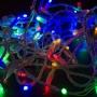 Гирлянда Нить 10м, постоянное свечение, белый ПВХ, 24В, цвет: Мультиколор Neon-Night