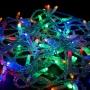 Гирлянда Нить 10м, постоянное свечение, прозрачный ПВХ, 24В, цвет: Мультиколор Neon-Night