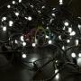 Гирлянда Нить 10м, постоянное свечение, черный ПВХ, 230В, цвет: Белый Neon-Night