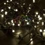Гирлянда Нить 10м, постоянное свечение, черный ПВХ, 230В, цвет: Тёплый белый Neon-Night