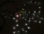 Гирлянда нить (стринг-метеор с динамикой) 3М (IP44) 24V белая Neon-Night