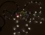 Гирлянда нить (стринг-метеор с динамикой) 3М (IP44) 24V тепло-белая Neon-Night