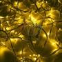 """Гирлянда модульная  """"Дюраплей LED""""  20м  200 LED  белый каучук  Желтая Neon-Night"""