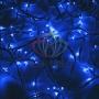 "Гирлянда модульная  ""Дюраплей LED""  20м  200 LED  белый каучук Синий Neon-Night"