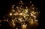 """Гирлянда """"Дюраплей LED"""" 20м 200 LED черный провод, мерцающий """"Flashing"""" (каждый 5-й диод), диоды тепло-белые Neon-Night"""