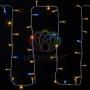 """Гирлянда модульная  """"Дюраплей LED""""  20м  200 LED  белый каучук , мерцающий """"Flashing"""" (каждый 5-й диод), Красная Neon-Night"""