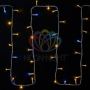 "Гирлянда модульная  ""Дюраплей LED""  20м  200 LED  белый каучук , мерцающий ""Flashing"" (каждый 5-й диод), Тепло-белая Neon-Night"