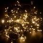 Гирлянда модульная «Дюраплей LED» 10 м, 200 LED, черный каучук, цвет свечения теплый белый с эффектом мерцания NEON-NIGHT