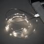 Гирлянда «Роса» 5 м, 50 LED, USB, белое свечение NEON-NIGHT
