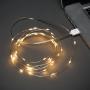 Гирлянда «Роса» 10 м, 100 LED, USB, теплое белое свечение NEON-NIGHT