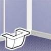 Адаптер для монтажа рамок Mosaic для короба 20х12.5