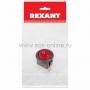 Выключатель клавишный круглый 250V 6А (3с) ON-OFF красный  с подсветкой  (RWB-214, SC-214, MIRS-101-8)  REXANT Индивидуальная упаковка 1 шт
