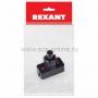 Выключатель-кнопка 250V 1А (2с) ON-OFF  черный  (PBS-17A2) (для настольной лампы)  REXANT Индивидуальная упаковка 1 шт