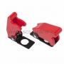 Защитная крышка для тумблеров типа KN и ASW красная (SAC-01)(Цена за шт.,в уп.10шт.)