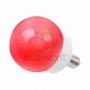 Лампа шар DIA 100 12 LED е27 красная Neon-Night