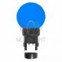 Лампа шар 6 LED для белт-лайта, цвет: Синий, O45мм, синяя колба Neon-Night