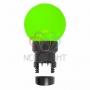 Лампа шар 6 LED для белт-лайта, цвет: Зелёный, O45мм, зелёная колба Neon-Night
