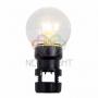 Лампа шар 6 LED для белт-лайта, цвет: Тёплый белый, O45мм, прозрачная колба Neon-Night