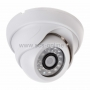 Купольная камера IP 1.0Мп (720P), объектив 2.8 мм., ИК до 20 м.,