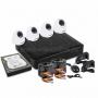 Комплект видеонаблюдения стандарта AHD-M 4 внутренние камеры (с жестким диском) ProConnect