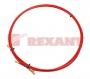 Протяжка кабельная (мини УЗК в бухте), стеклопруток, d=3,5мм, 5м красная