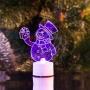 """Фигура светодиодная на подставке """"Снеговик с подарком 2D"""", RGB Neon-Night"""