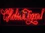"""Надпись прописная """"С Новым Годом"""" красная 230*90 см Neon-Night"""
