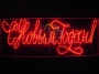 """Надпись прописная светодиодная """"С Новым Годом"""" красная 230*90 см Neon-Night"""