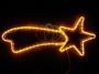 """Фигура """"Комета"""" цвет желтый, размер 29*66 см Neon-Night"""
