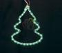"Фигура ""Елочка"" цвет зеленый, размер 33*25 см Neon-Night"