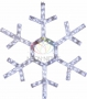 "Фигура ""Снежинка"", диаметр 91 см (138  БЕЛЫХ светодиодов) Neon-Night"