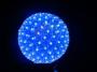 Шар светодиодный 220V, диаметр 20 см, 200 светодиодов, цвет синий Neon-Night