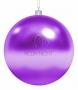 """Елочная фигура """"Шар"""", 20 см, цвет фиолетовый (12шт) Neon-Night"""