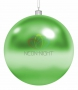 "Елочная фигура ""Шар"", 25 см, цвет зеленый Neon-Night"