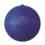 "Елочная фигура ""Шар с блестками"", 20 см, цвет синий (4шт) Neon-Night"