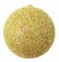 """Елочная фигура """"Шар с блестками"""", 25 см, цвет золотой Neon-Night"""