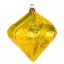 """Елочная фигура """"Алмаз"""", 15 см, цвет золотой (6шт) Neon-Night"""